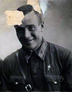 Лейтенант Рязанцев А.Н.