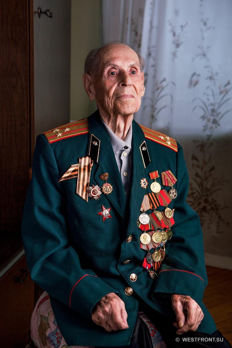 Ветеран войны и воинской службы, полковник запаса Сергей Фёдорович Шипов