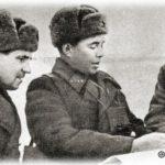 Командир 9-й гвардейской стрелковой дивизии Белобородов А.П. ставит задачу командирам подразделений.