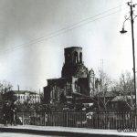 Никольский храм в г Наро-Фоминске, разрушенный во время боёв 1941 г. ( послевоенное фото)