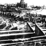 Развалины шедового корпуса, декабрь 1941 г.