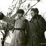 Командир 329 сд Андрусенко К.М. (слева) и военком 329 сд Сизов Д.П.