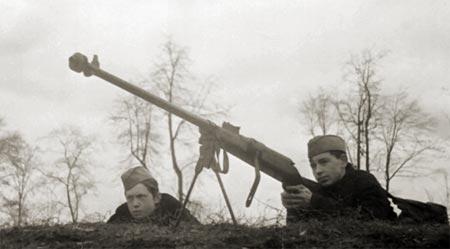 Противотанковое ружьё Руковишникова обр. 1939 г.