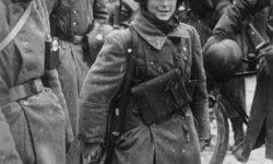 Фото солдат французского легиона в д. Головково, Наро-Фоминского р-на